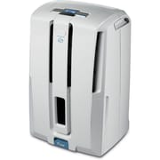 DeLonghi DD45PE 45-Pint Dehumidifier With Patented Pump, White