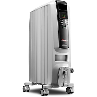 DeLonghi TRD40615E High Performance Radiant Heater With Electronic Controls, White
