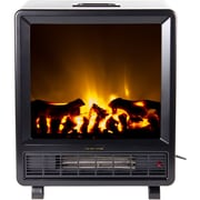 Frigidaire® Topaz Floor Standing Electric Fireplace, Black