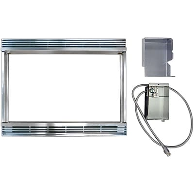 """""""""""Sharp 30"""""""""""""""" Built-in Trim Kit For R930CS Microwave Oven, Silver"""""""""""" 863353"""