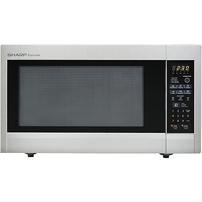 Sharp® 2.2 cu. ft. Mid Size Countertop Microwave Oven With 16