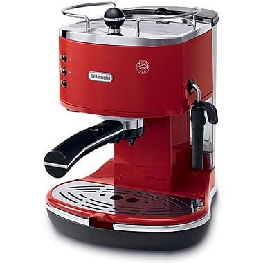 DeLonghi Icona ECO310 15 Bar Pump Driven Espresso/Cappuccino Maker, Red