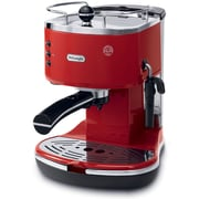 DeLonghi Icona ECO310 15 Bar Pump Driven Espresso/Cappuccino Maker; Red