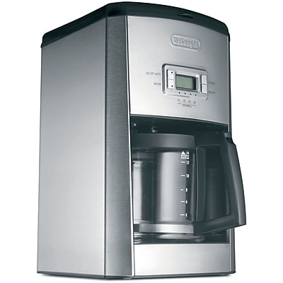 DeLonghi DC514T 14 Cup Coffee Maker, Stainless Steel