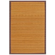 "Anji Mountain Rug Bamboo 48"" x 72"" Brown (AMB0010-0046)"