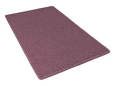 NoTrax® Aqua Trap® Tufted Polypropylene Yarn Superior Entrance Floor Mat, 3' x 4', Burgundy