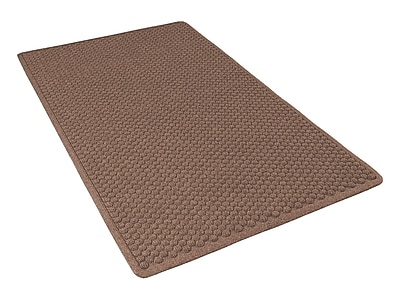 NoTrax® Aqua Trap® Tufted Polypropylene Yarn Superior Entrance Floor Mat, 4' x 6', Dark Brown