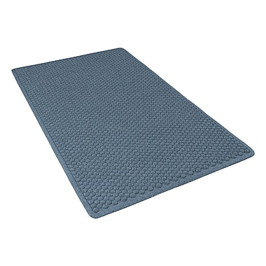 NoTrax® Aqua Trap® Tufted Polypropylene Yarn Superior Entrance Floor Mat, 4' x 6', Slate Blue
