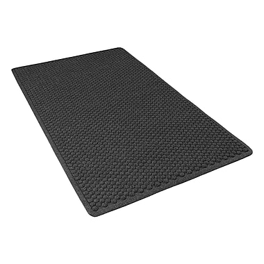 NoTrax® Aqua Trap® Tufted Polypropylene Yarn Superior Entrance Floor Mat, 3' x 5', Charcoal