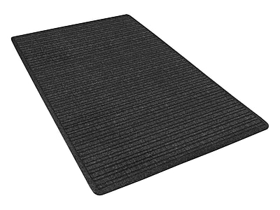 NoTrax® Barrier Rib™ Tufted Polypropylene Yarn Superior Entrance Floor Mat, 3' x 10', Charcoal