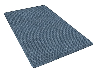 NoTrax® Barrier Rib™ Tufted Polypropylene Yarn Superior Entrance Floor Mat, 4' x 6', Slate Blue