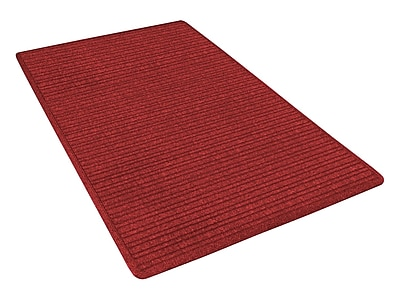 NoTrax® Barrier Rib™ Tufted Polypropylene Yarn Superior Entrance Floor Mat, 2' x 3', Red/Black