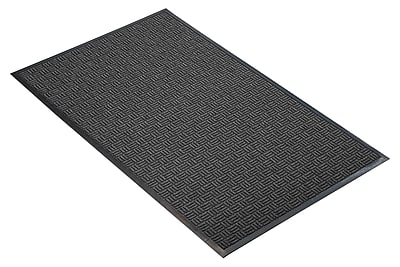 NoTrax® Portrait™ Tufted Polypropylene Yarn Best Entrance Floor Mat, 3' x 4', Charcoal