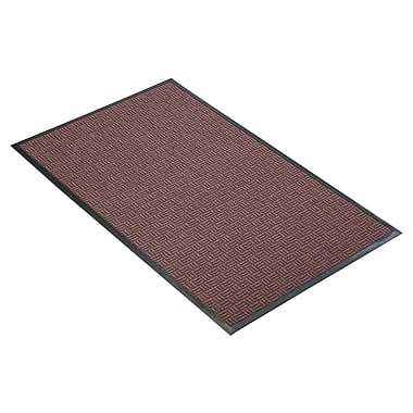 NoTrax® Portrait™ Tufted Polypropylene Yarn Best Entrance Floor Mat, 3' x 10', Burgundy