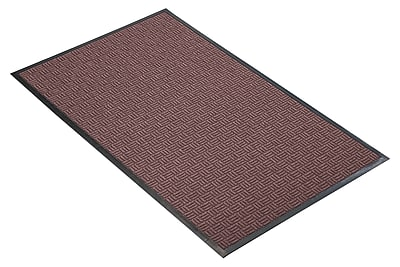NoTrax® Portrait™ Tufted Polypropylene Yarn Best Entrance Floor Mat, 3' x 4', Burgundy