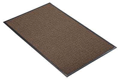 NoTrax® Portrait™ Tufted Polypropylene Yarn Best Entrance Floor Mat, 3' x 4', Brown