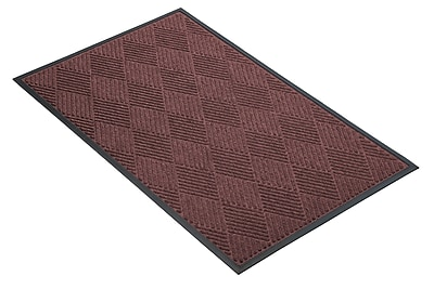 NoTrax® Opus™ Tufted Polypropylene Yarn Best Entrance Floor Mat, 3' x 4', Burgundy