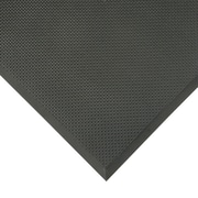 """Apex Superfoam PVC Nitrile Foam Anti-Fatigue Mat, 36"""" x 24"""", Black"""