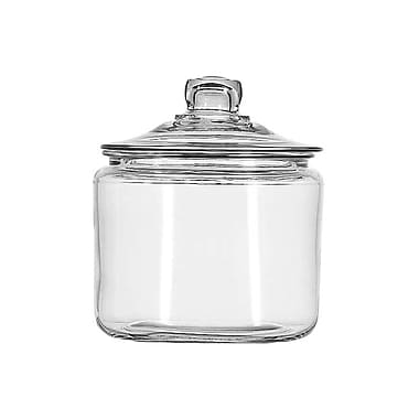 Anchor Hocking® 3 qt. Glass Heritage Hill Jar With Glass Cover, Clear