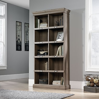 Sauder Barrister Lane Tall Bookcase, Salt Oak (414108)