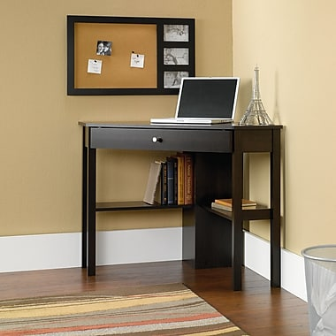 Sauder Corner Computer Desk, Cinnamon Cherry