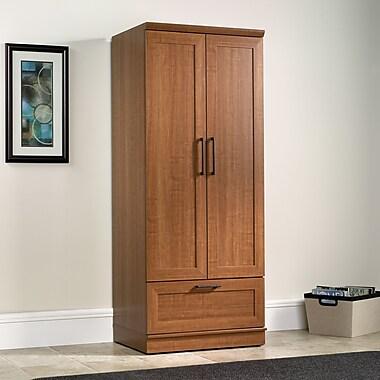 Sauder – Garde-robe/armoire de rangement Home Plus, chêne Sienne