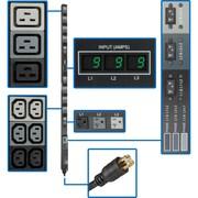 Tripp Lite® Metered Power Distribution Unit, 208/120V Input/Output, 8.6 kVA