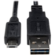 Tripp Lite 10' USB 2.0 Male to Male Data Transfer Cable, Black