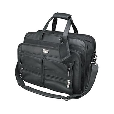Tripp Lite Corporate Top-Load Notebook Case, Leather, Black, (NB1005BK)