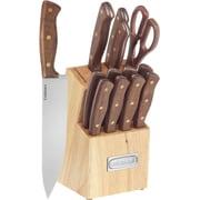 Cuisinart® 14 Piece Triple Rivet Walnut Block Set
