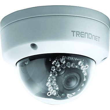 TRENDnet TV-IP311PI Wired Day/Night Network Camera Dome Network Camera, White