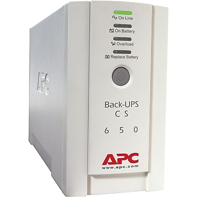 APC by Schneider Electric Back-UPS CS Series Standby UPS For International Use, 400 W