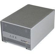 "StarTech Dual Bay 2.5"" ThunderBolt HDD Enclosure With Cooling Fan"