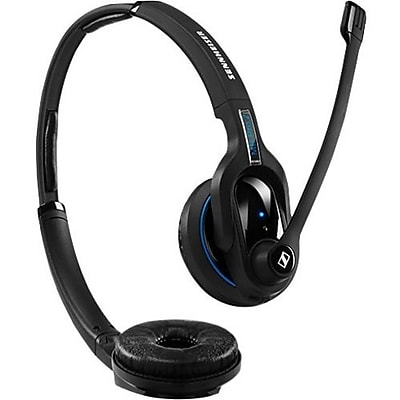 Sennheiser MB Pro 1 UC ML 506046 Wireless Double-Sided Bluetooth Headset with Dongle, Black
