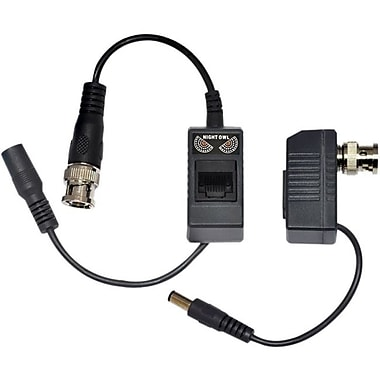 Night Owl Passive Video Balun With Power For Security CCTV Systems
