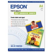 "Epson® 8.3"" x 11.7"" Self-Adhesive Multipurpose Label"
