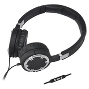 Gear Head™ Dynamic Bass Multimedia Over-the-Head Headphone With Microphone, Silver