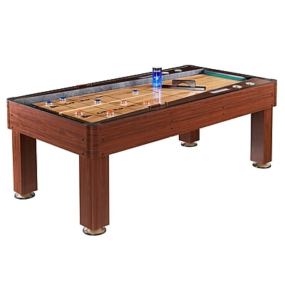 Hathaway Ricochet 7' Shuffleboard Table, Cherry 1022834