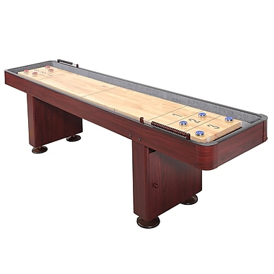 Hathaway™ Challenger 9' Deluxe Shuffleboard Table, Dark Cherry
