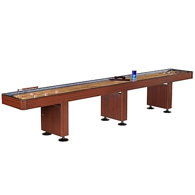 Hathaway™ Challenger 14' Deluxe Shuffleboard Table, Dark Cherry
