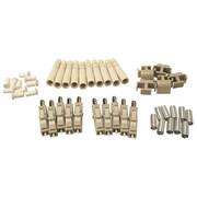 Shaxon Multimode Ceramic LC Fiber Optic Connector, 10/Pack