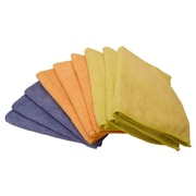 "Shaxon 12"" x 16"" Ultra Absorbent Microfiber Cleaning Cloth, 9/Pack"