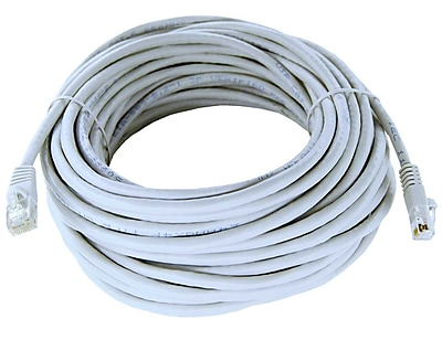 Shaxon 50' Molded Category 6 RJ45/RJ45 Patch Cord, White