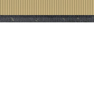 Inspired By Color™ Green Taffeta Ticking Wallpaper, Tan With Green