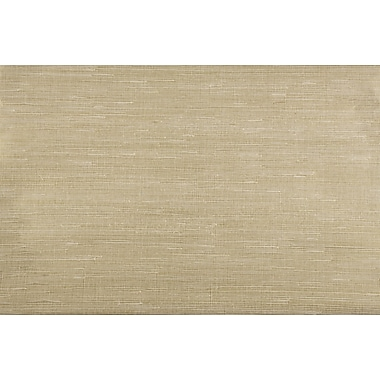 Inspired By Color™ Grasscloth Sisal Twil Wallpaper, Gold Cream
