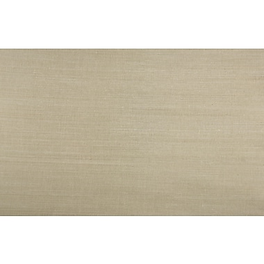 Inspired By Color™ Grasscloth Sisal Twil Wallpaper, Gold Metallic With Cream Sisal