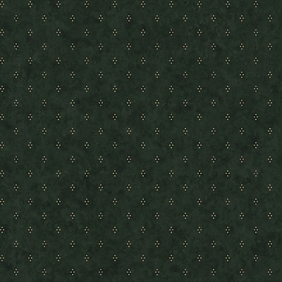 Inspired By Color™ Country & Lodge Dots With Crackle Wallpaper, Forest Green
