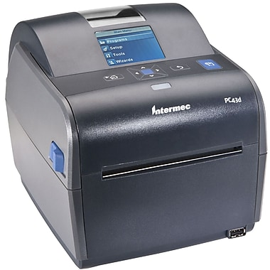 Intermec® PC43d Monochrome Direct Thermal Label Printer, 203 dpi