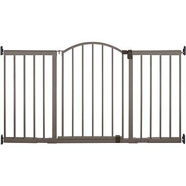 Summer Infant® 6' Wide Extra Tall Walk-Thru Metal Expansion Gate, Bronze
