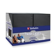 Verbatim® DVD/Blu-Ray Video Trim Case, Black